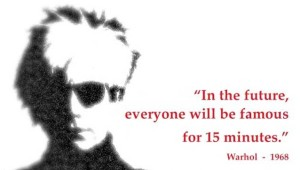 Andy Warhol 15 min image