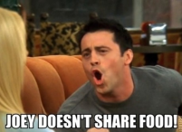 Joey no share