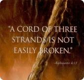 3 strands cord