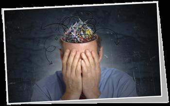Brain clutter image