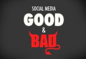 social media good bad