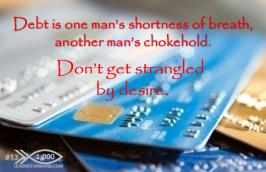 1000 Tips 13 Debt choke