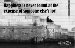 1000 Tips 52 happiness expense of joy