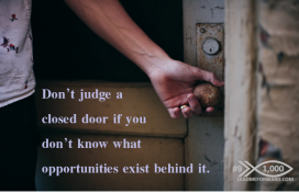 1000 Tips 9 opportunity door