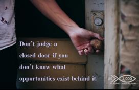 1000 Tips 9 opportunity door