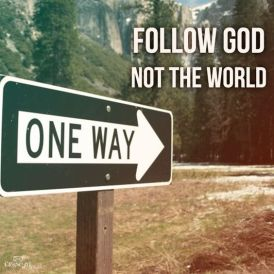 follow-god-sign