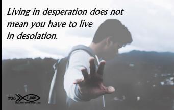 1000 Tips 26 desperation