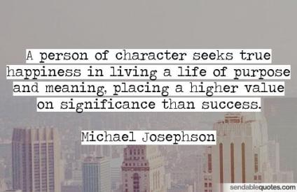 person of meaning quote