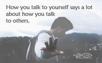 1000 Tips 114 talk to self others